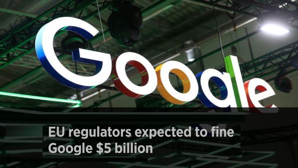 Google Faces $5 Billion