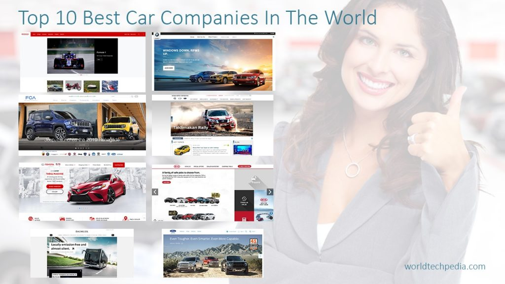 Top 10 Best Car Companies In The World