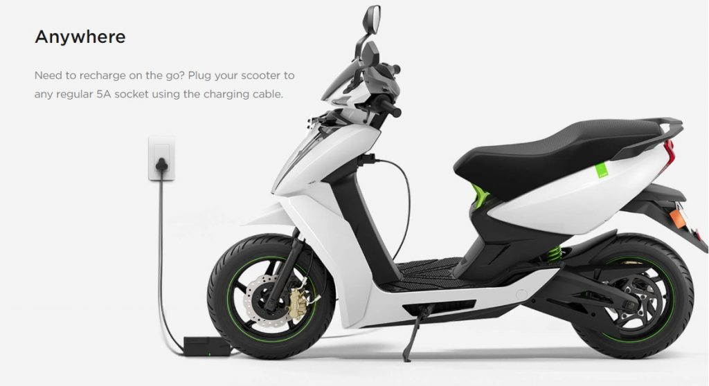 Ather 450 Electric Scooter Review 2018 - Ather 450 Electric Scooter Price