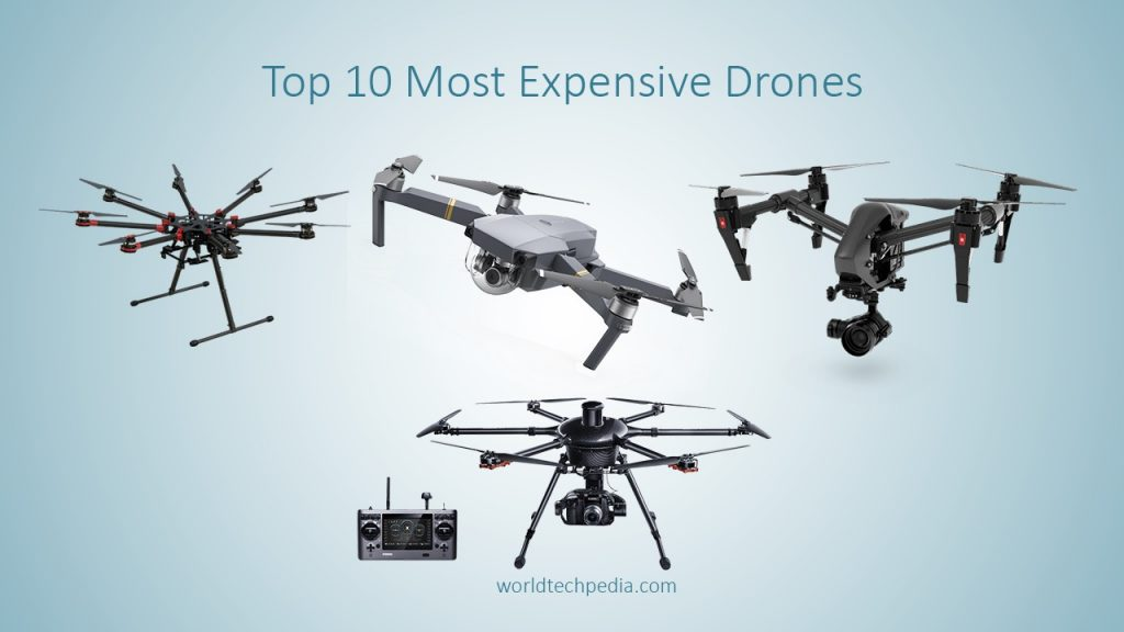 Top 10 Most Expensive Drones