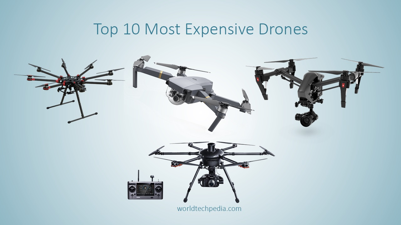 Most Expensive Drones Lists