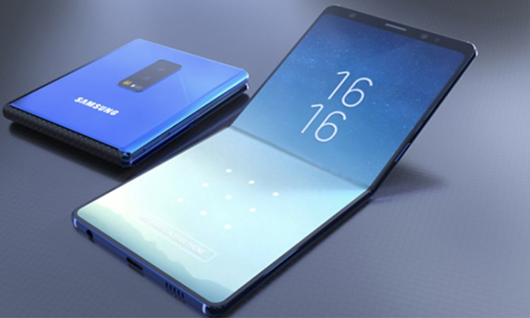 Samsung Foldable Phone - Galaxy X