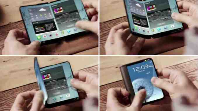 Samsung Foldable Phone - Foldable Smartphone Screen