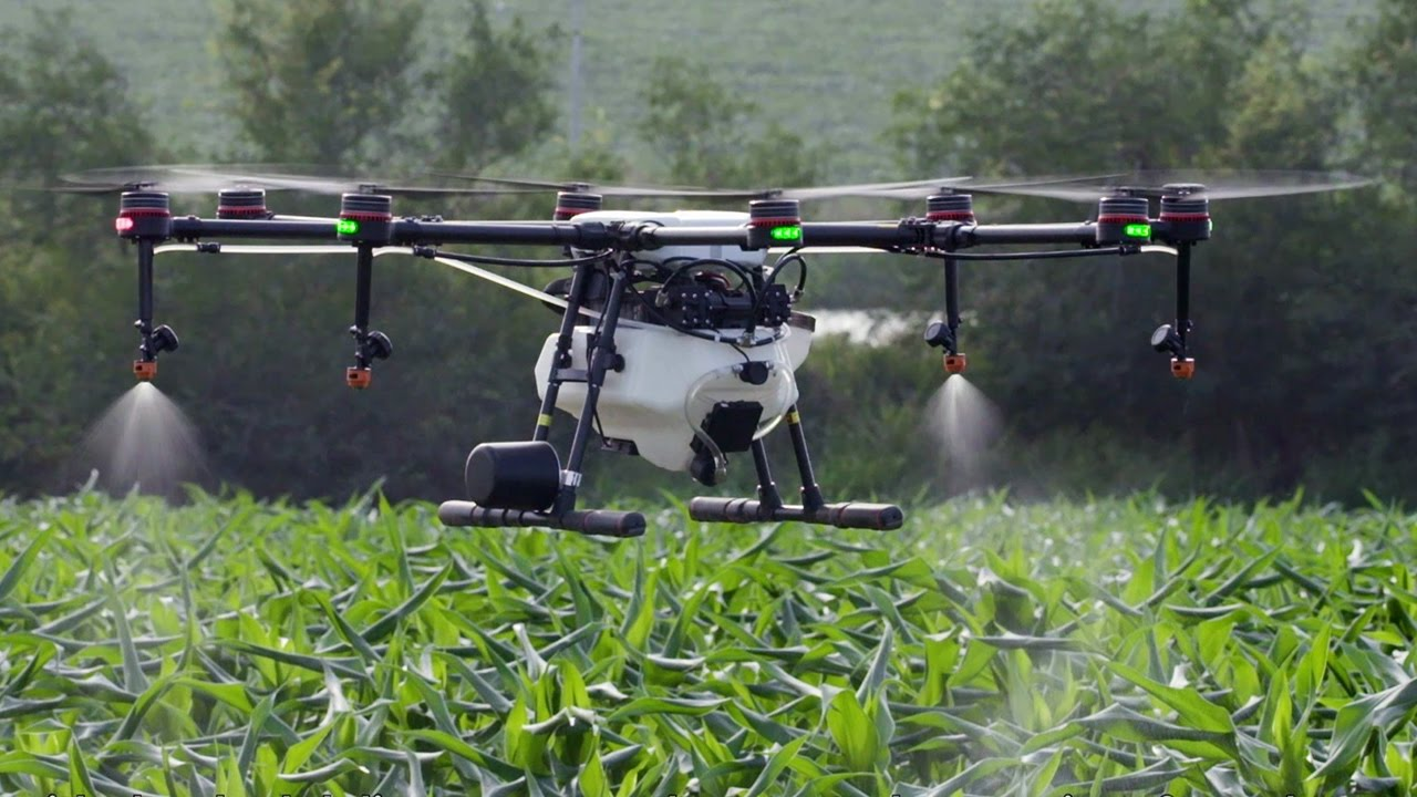 Crop-dusting/Spraying - Agricultural Drone