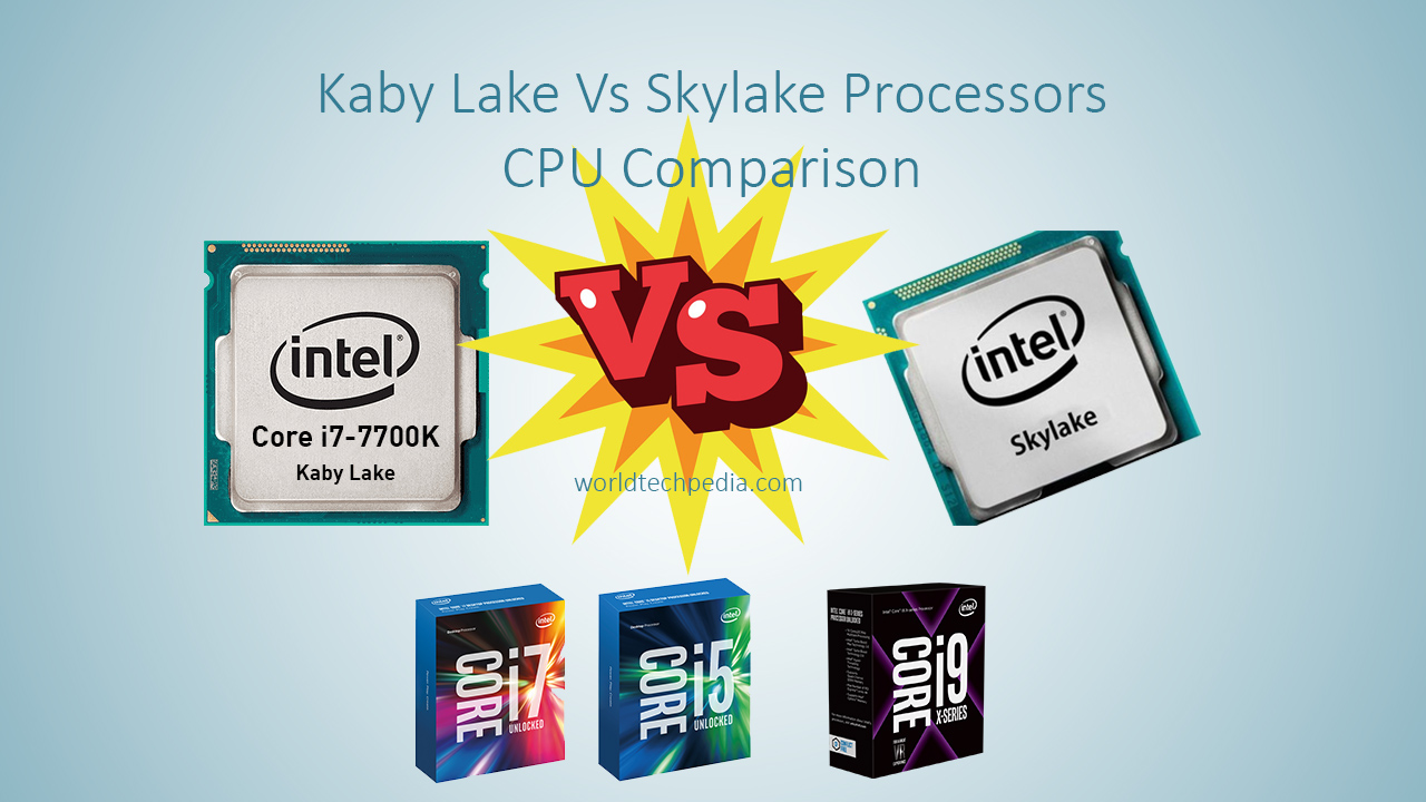 Kaby Lake vs Skylake