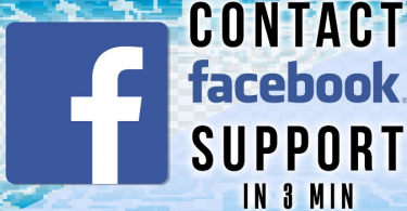 Contact Facebook Support For Problem Instantly